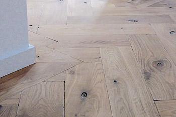 Verouderde houten vloeren dutzfloors